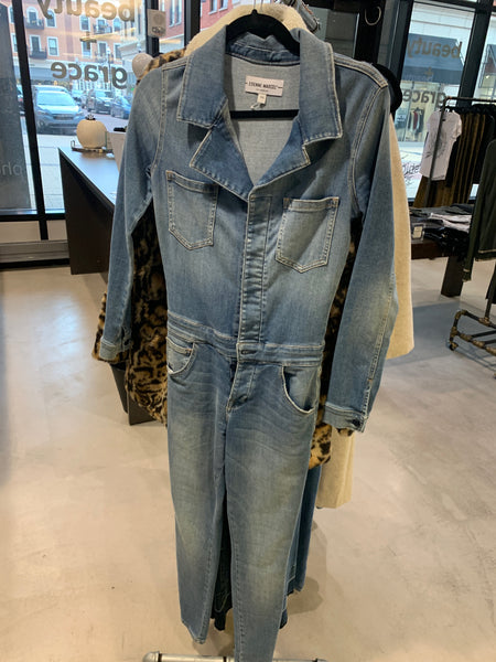 ETIENNE MARCEL Denim Jumpsuit