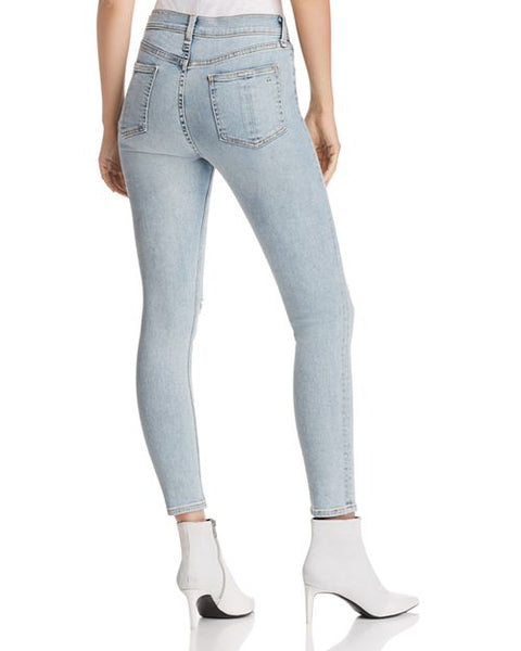 RAG & BONE High Rise Ankle Skinny in Norlet