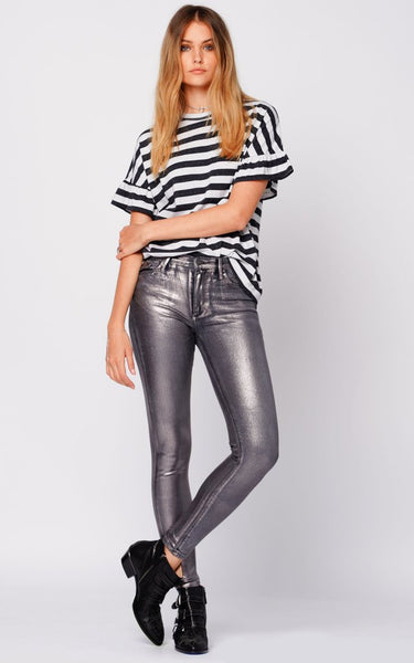 BLACK ORCHID Gisele High Rise Super Skinny w/Foil in Up The Amp