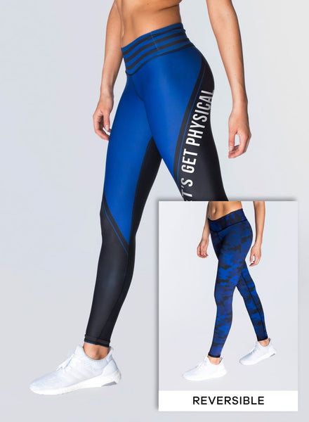 CHRLDR PHYSICAL Reversible Leggings