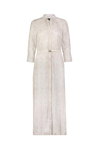 DAVID LERNER Alexa 3/4 Sleeve Maxi Shirt Dress