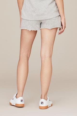 DAVID LERNER Lounge Short w/Sparkle Raw Hem