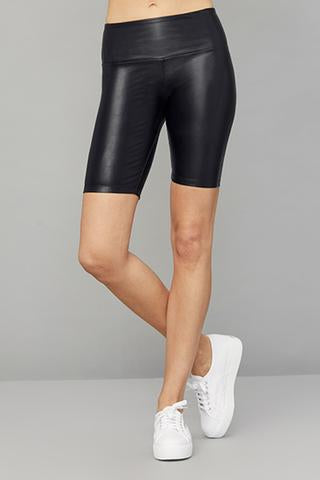 DAVID LERNER Wet Spandex Bike Short