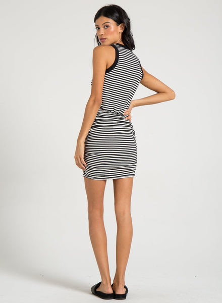 N: PHILANTHROPY Majorica Dress in Black & White