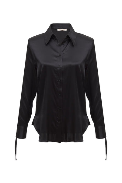 GOLD HAWK Jocelyn Ruched Shirt