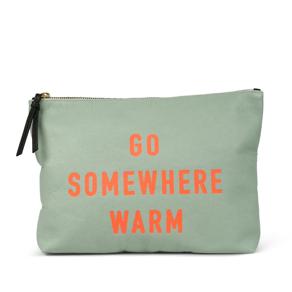 KEMPTON & CO Go Someplace Warm Medium Pouch