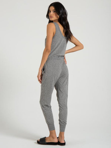 n: PHILANTHROPY Opal Jumpsuit in Heather Grey