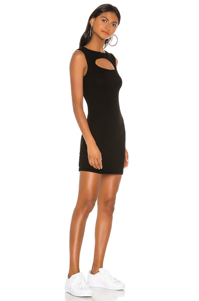 MICHAEL LAUREN Fetch Tank Dress w/Front Keyhole