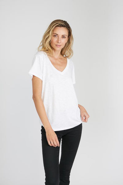 CHRLDR Nothing Else V-Neck Tee