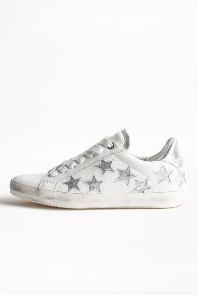 ZADIG & VOLTAIRE Used Star Sneakers