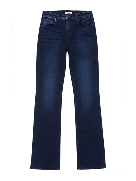 L'AGENCE Oriana Straight Jean in Blue Jay