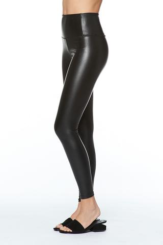 DAVID LERNER High Waist Vegan Leggings