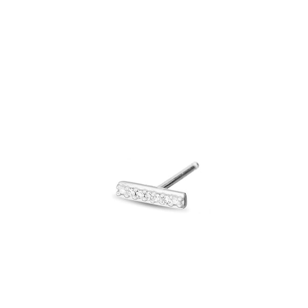 ADINA REYTER Super Tiny Pave Bar Posts