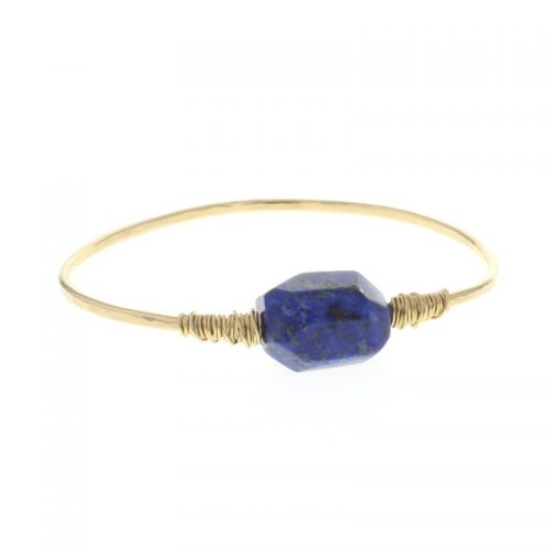LOTUS JEWELRY Loki Bracelet with Lapis