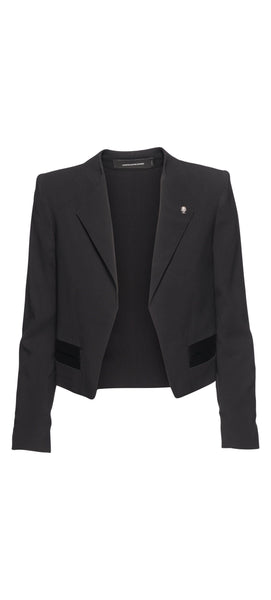 ZADIG & VOLTAIRE Vola Spi Jacket in Black