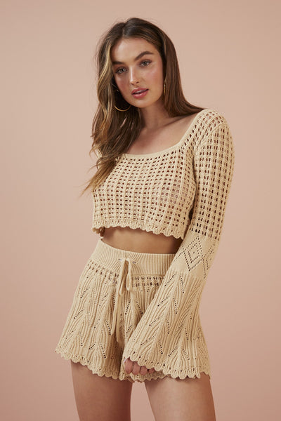 FINDERS KEEPERS Afternoon Knit Top