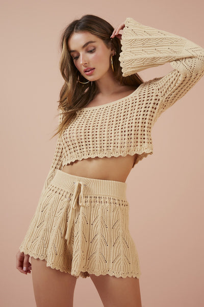FINDERS KEEPERS Afternoons Knit Short