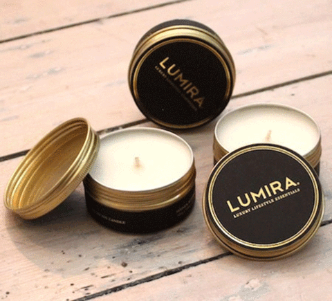 Lumira Travel Candle: