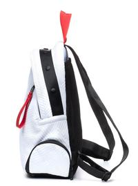 GO DASH DOT White Round Backpack