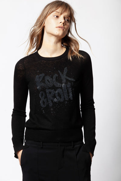 ZADIG & VOLTAIRE Source Strass Cachemire Sweater