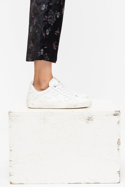 ZADIG & VOLTAIRE Star Sneaker in White
