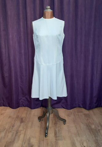 Size 18 Vintage 50s Wedding Party Evening Cocktail Dress Retro Elegant Lurex