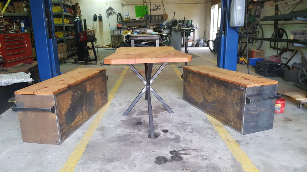Double X table base