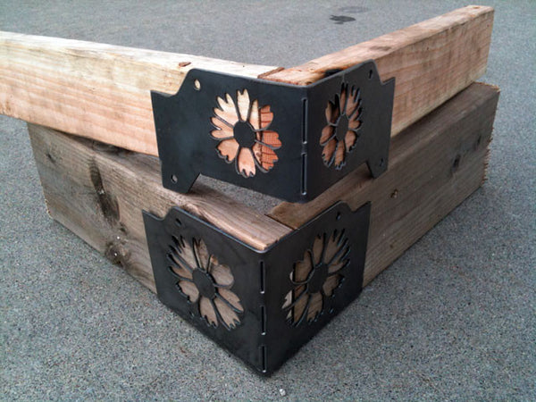 Planter Box Corner Brackets
