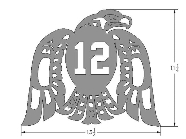 Seahawks Wall Plaque