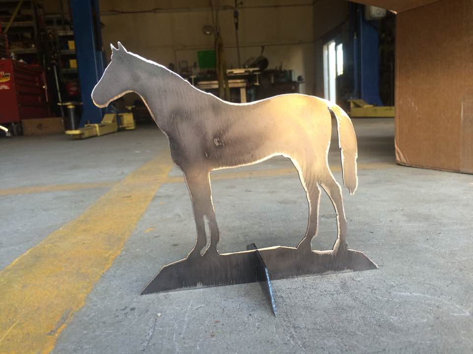 Standing Horse