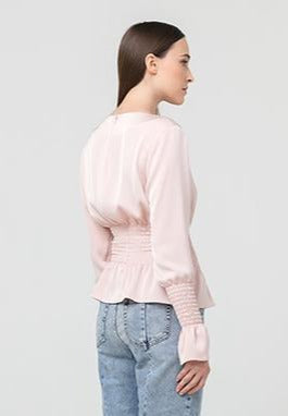 NAPOLI blouse in morning rose
