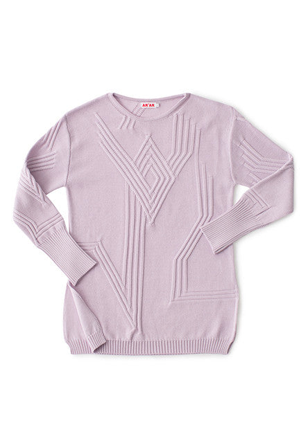 ETERNA sweater in lavender
