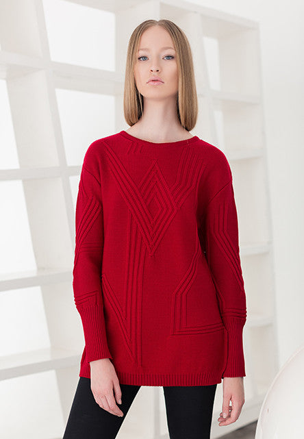 ETERNA sweater in red