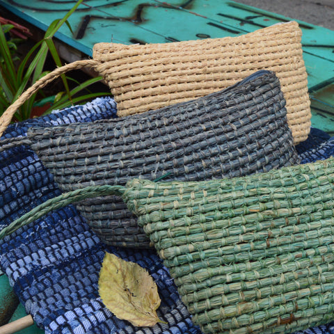 Spice Isle Woven Clutch