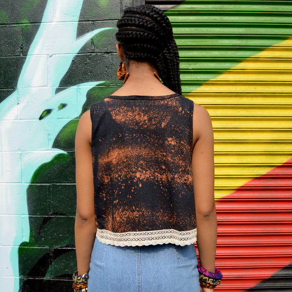 Freestyle Lace crop tank