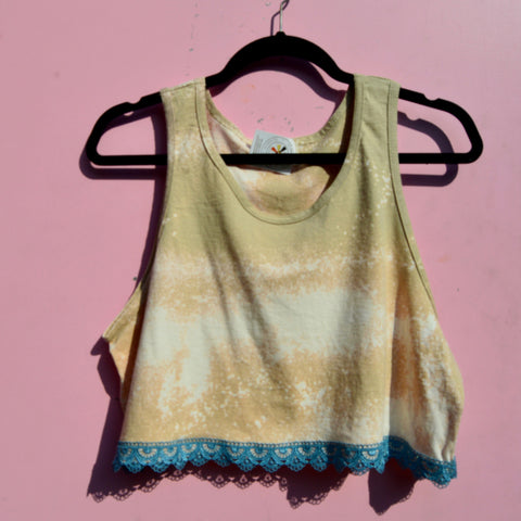 Copy of Freestyle Lace crop tank