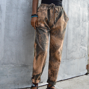 InI Basics Acid Washed RElaxed Fit Pants