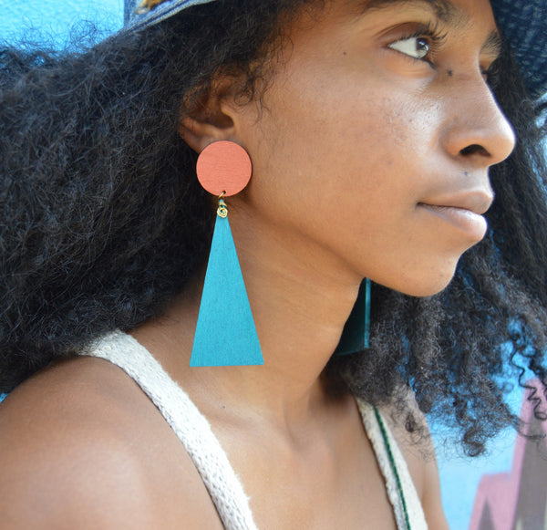 ReClaim post earrings