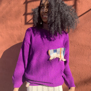 Vibrant Thing Re-Worked Vintage Sweater