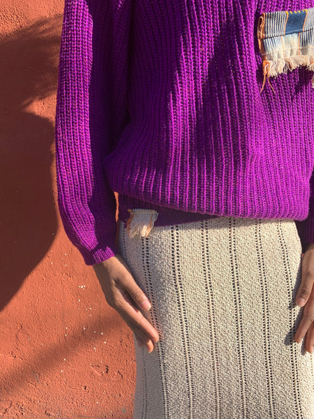 Its a Vibe knit skirt