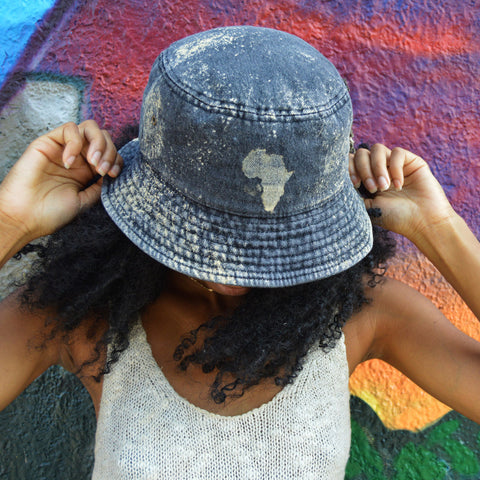 AfroSoul Freestyle Bucket Hat (Available in 3 denim color options)