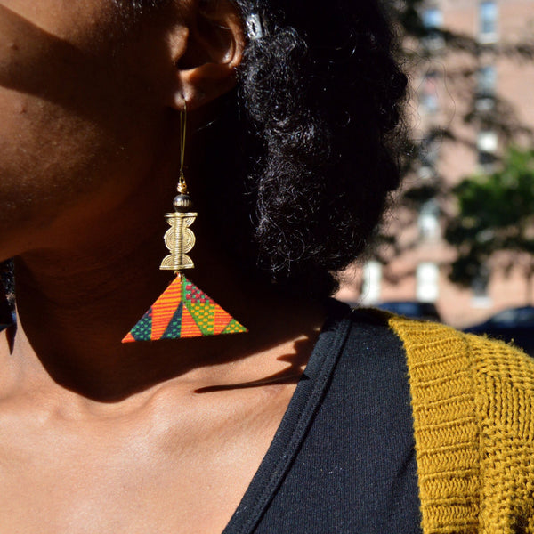 Heights dangle earrings