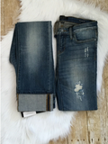 Judy-Blue-boyfriend-straight-fit-jeans | All that Sparkles Boutique