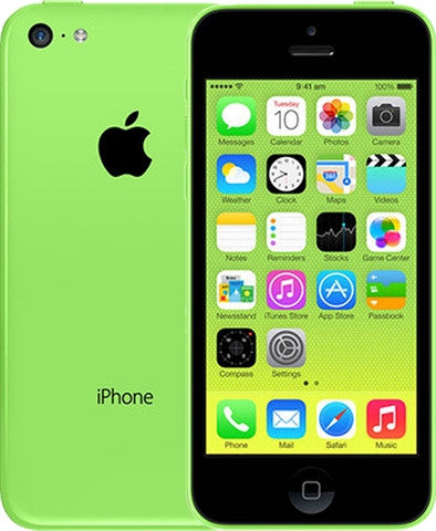 APPLE IPHONE 5C 16GB C GRADE (GREEN)