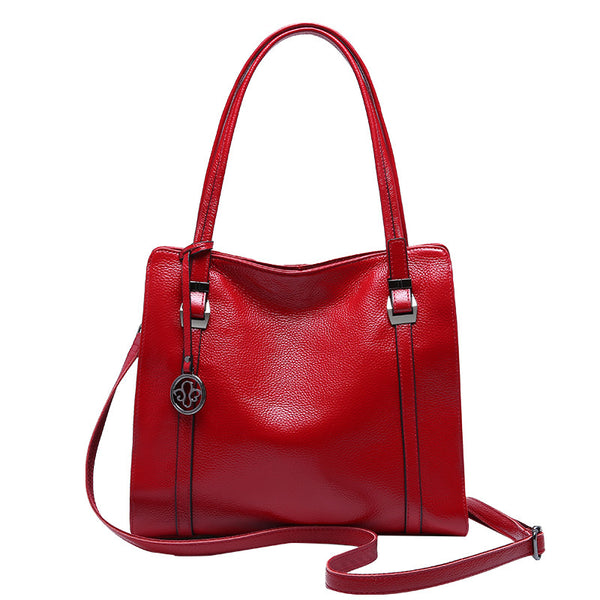 Simple Leather Hand Bags Women Shoulder Bags Casual Bags B10064