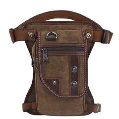 Men Canvas Chest Bag Crossbody Bag Fashion Sports Bag K8003 - icambag