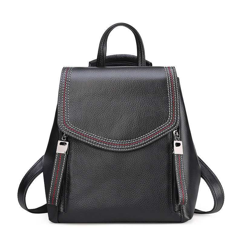 Women Leather Shoulder Bags Fashion Backpack High Quality Bag B10063