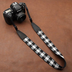 Fashion Squares Cotton DSLR Camera Strap CS017 - icambag