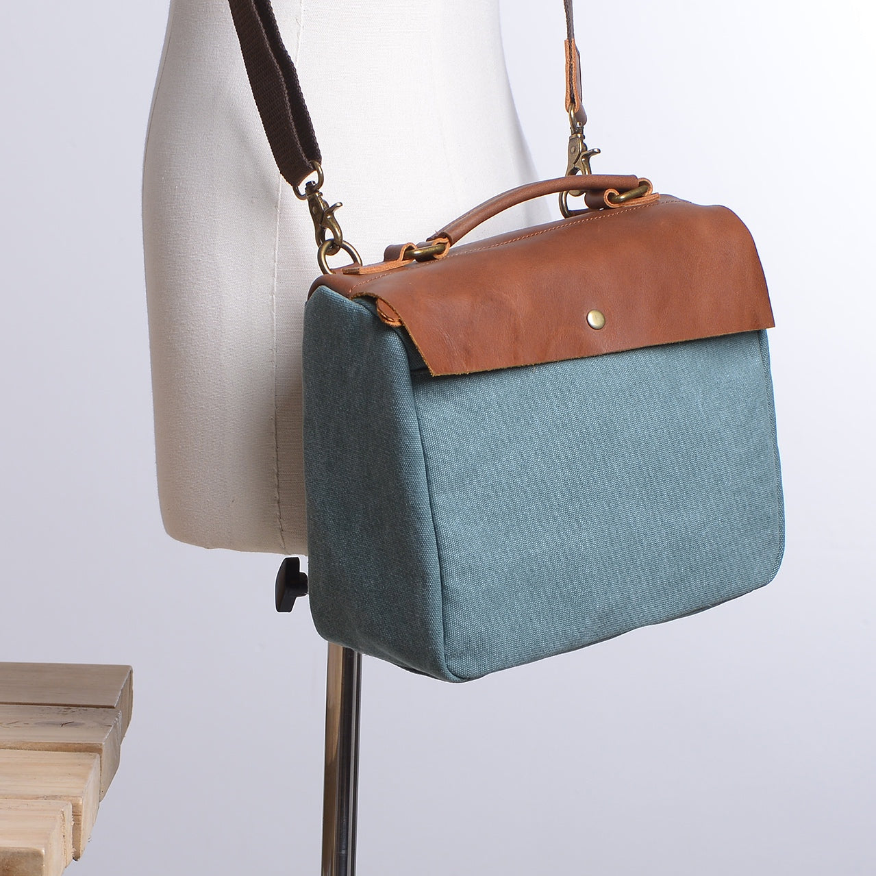 Canvas Handmade Women's Handbags Message Bags Bridesmaid's Gifts - icambag