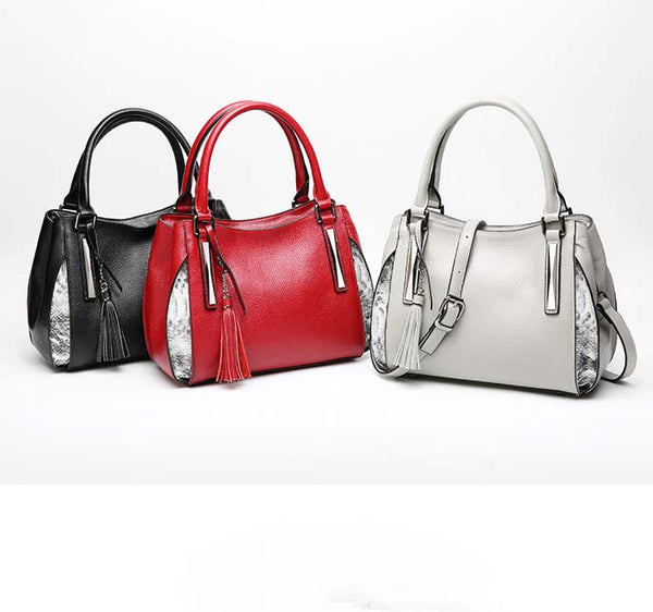 Women Leather Hand Bags Fashion Shoulder Bags For Summer B10065
